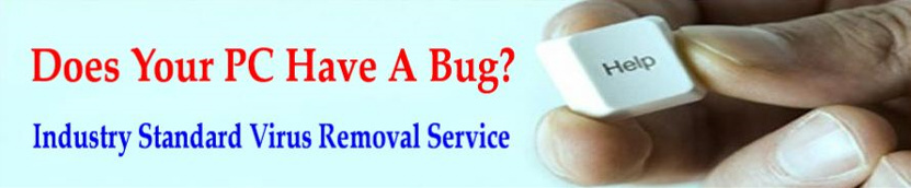 Does your pc have a virus - let us remove it with industry standard virus removal software